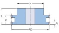 ISO 06B-2 - 9,525 мм
